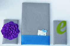 I'm digging the felt cases for my iphone/ipad lately. How to make your own.