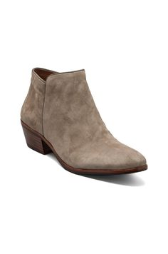 Sam Edelman Petty Boot in Putty Suede