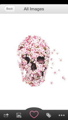 Flower skull We Heart It Images, Flower Skull, Flowers, Movie Posters, Film Poster, Royal Icing Flowers, Flower, Florals, Billboard
