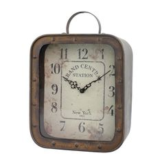 You'll love the Rustic Retreat Table Clock at Joss & Main - With Great Deals on all products and Free Shipping on most stuff, even the big stuff.