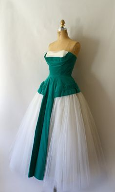 RESERVED LISTING 1950s Vintage Formal 50s by Sweetbeefinds