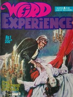 Cover for Weird Experience (Gredown, 1980 ? series) #1