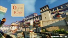 Download Origines of Rome – Conquest Addon Pack for Minecraft 1.8. Origines of Rome Conquest Addon Pack 32x Resource Packs. Minecraft 1.8.1 Resource Packs