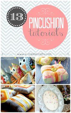 13 pincushion tutorials