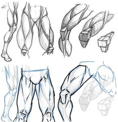How to Draw Legs and Feet the correct way step by step Online . Drawing Body Proportions, Drawing Legs, Feet Drawing, Body Reference Drawing, Body Drawing, Art Reference Poses, Drawing Poses, Leg Anatomy, Anatomy Art