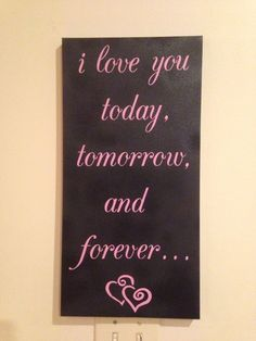 Canvas Quote by VIPdecals on Etsy