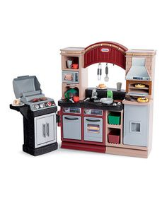 Take a look at this Little Tikes Brick Oven Pizza Kitchen by Little Tikes on #zulily today!