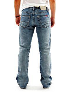 Mustang herren boot cut jeans oregon