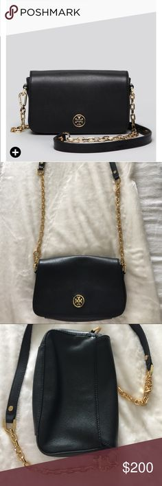 Tory burch bag Black and gold bag Tory Burch Bags Crossbody Bags