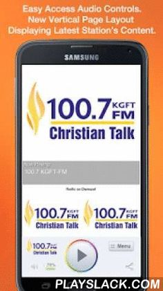 100.7 KGFT-FM  Android App - playslack.com , Never be without your favorite radio station. 100.7 KGFT-FM is proud to present our OFFICIAL radio app. Listen to us at work, home or on the road. Install our app and get instant access to our unique content, features and more!- New design and interface- See current playing show and up to date station and local news on a single screen- Get notifications and single click access to any station promotions or contests- View station's YouTube channel…