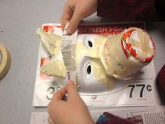 Pacific Northwest Coast Masks – Project for third/fourth graders