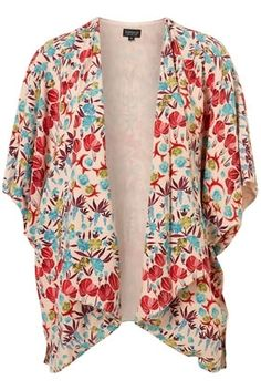 Oriental Print Kimono Jacket - New In This Week - New In - Topshop USA - StyleSays