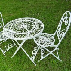 Home Genies- Home and Garden products: Vintage Metal Garden Furniture