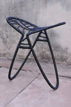 Stool by Cheick Diallo, from Mali to France #africa #design  www.diallo-design.com