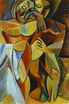 Пабло Пикассо. Дружба. 1908 год
