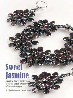 This design feature Preciosa's new Pip beads - get it here: http://www.joomag.com/magazine/digital-beading-magazine-issue-11/0912822001408173490
