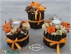 Őszi tökös szett  virágbox asztaldísz  (fabkata) - Meska.hu Autumn Decorations, Fall Decor, Table Decorations, Dolls, Halloween, Diy, Home Decor, Creative, Baby Dolls