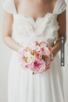 Nice! - sweet little bouquet full of pink garden roses  Photography by , Floral and Event Design by | CHECK OUT MORE GREAT VINTAGE WEDDING IDEAS AT WEDDINGPINS.NET | #weddings #vintagewedding #weddingvintage #oldweddingphotos #events #forweddings #iloveweddings #romance #vintage #planners #old #ceremonyphotos #weddingphotos #weddingpictures
