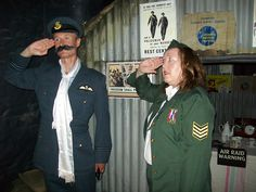 Tameside CAB 1940s themed party