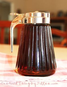 Make Your Own {Ridiculously Easy and Inexpensive} Homemade Maple Syrup!