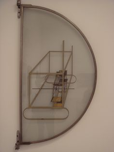 """Marcel Duchamp """"Glider Containing a Water Mill in Neighboring Metals.""""  At the Philadelphia Museum of Art"""