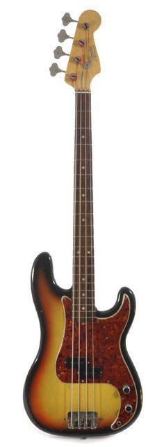 FENDER Precision Bass 3 Tone Sunburst 1964 | Chicago Music Exchange