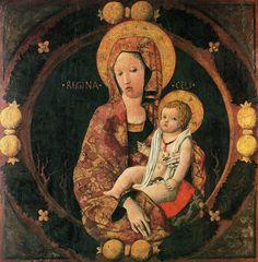 Chiulinovich Giorgio, lo Schiavone Madonna con Bambino, XV d.C. Materiali tempera su tavola Misure 103.5  x  102  cm Collocazione Rijksmuseum, Amsterdam