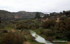 """#Almería - #Sorbas - Río Aguas - 37º 5' 33"""" -2º 6' 37"""" / 37.092500, -2.110278  En los alrededores de Sorbas encontramos un buen numero de espacios naturales con un encanto extraordinario, como por ejemplo río de Aguas, bello paraje que esconde en su recorrido rincones impresionantes y mágicos."""