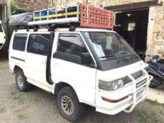 L300  mitsubishi  4D56 4x4  4WD camping car allrad expedition adventure aventure motorhome