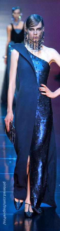 Couture Armani Privé | The House of Beccaria☆ ◦●◦ ჱ ܓ ჱ ᴀ ρᴇᴀcᴇғυʟ ρᴀʀᴀᴅısᴇ ჱ ܓ ჱ ✿⊱╮ ♡ ❊ ** Buona giornata ** ❊ ~ ❤✿❤ ♫ ♥ X ღɱɧღ ❤ ~ Mon 23rd Feb 2015