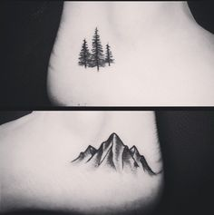 mountain small tattoo - Pesquisa Google                                                                                                                                                                                 More