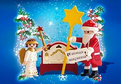 Little Angel and Santa Claus with Organ - PM USA PLAYMOBIL® USA