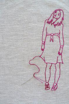 https://flic.kr/p/6N8JbC   Embroidery work in progress
