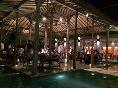 Bambu Restaurant in Seminyak, Bali