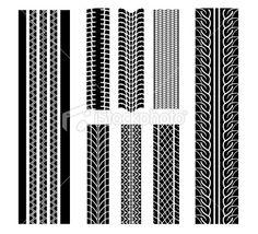 Tire patterns iStockphoto
