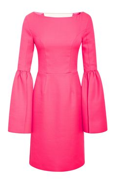 Honor Bell Sleeve Fitted Dress by Honor