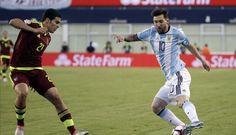 Argentina Ditahan Imbang Venezuela
