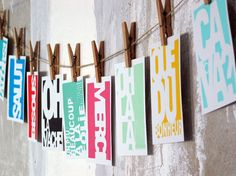 French wording - typography