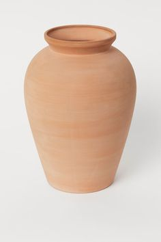 Terracota, Vase Haut, Billy Regal, Terracotta Floor, Fragrant Candles, H & M Home, H&m Gifts, Tall Vases, Touch Of Gold