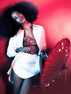 Solange Knowles Goes East for The Ground Shoot by...
