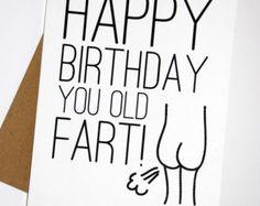 Brother in Law Birthday Jokes | Old Fart Birthday Card...