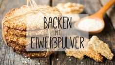 Backen mit Proteinpulver – Rezepte und Informationen Baking with protein powder – recipes and information Low Carb Sweets, Low Carb Desserts, Healthy Sweets, Healthy Food, Healthy Eating, Baking With Protein Powder, Protein Powder Recipes, Protein Recipes, No Sugar Diet