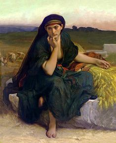 Alexandre Cabanel - Ruth Revenant des Champs (or Ruth en Repos), 1868. (French, 1823-1889). Metropolitan Museum of Art