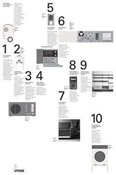 10 Principles for Good Design Poster _ #Design #Form & #Function #Braun