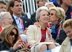 Warm moments between royals: Princess Alexandra, Princess Anne, Royal Princess, Greek Royalty, Danish Royalty, Greek Royal Family, Danish Royal Family, Constantine Ii Of Greece, Anne Maria