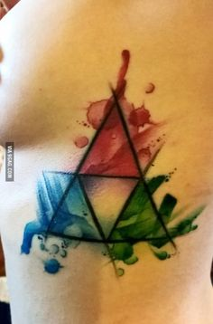 New tattoo! Any Legend of Zelda fans out there?