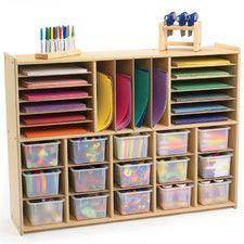 Value Line Multi-Section Storage – craft room storage - Hybrid Elektronike Craft Room Storage, Arts And Crafts Storage, Kids Storage, Space Crafts, Craft Organization, Kids Crafts, Organization Station, Cubby Storage, Storage Units
