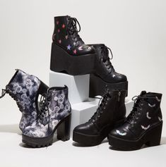 Step it up this weekend // Assorted Boots & Booties