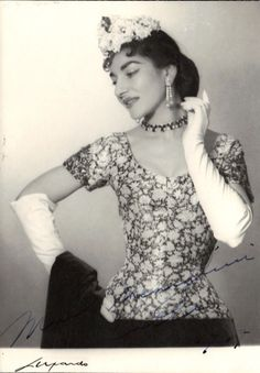 Bitchim gorrrrgeous  Maria Callas.