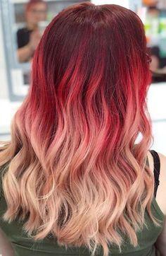 7 Breathtaking Hair Color Trends For 2019 Pretty Hair Color, Beautiful Hair Color, Bright Hair, Grunge Hair, Bandeau, Ombre Hair, Pretty Hairstyles, Hair Trends, New Hair